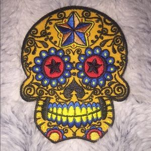 Other - Sugar Skull Patch (iron on)